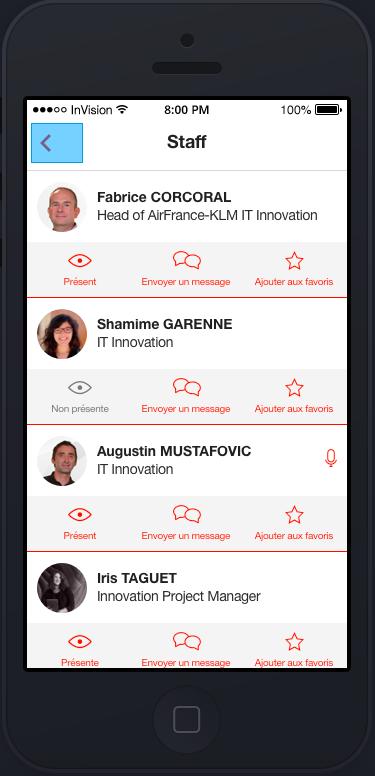 notre application ITiForums en action